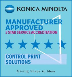 Konica Minolta 5 Star Accreditation