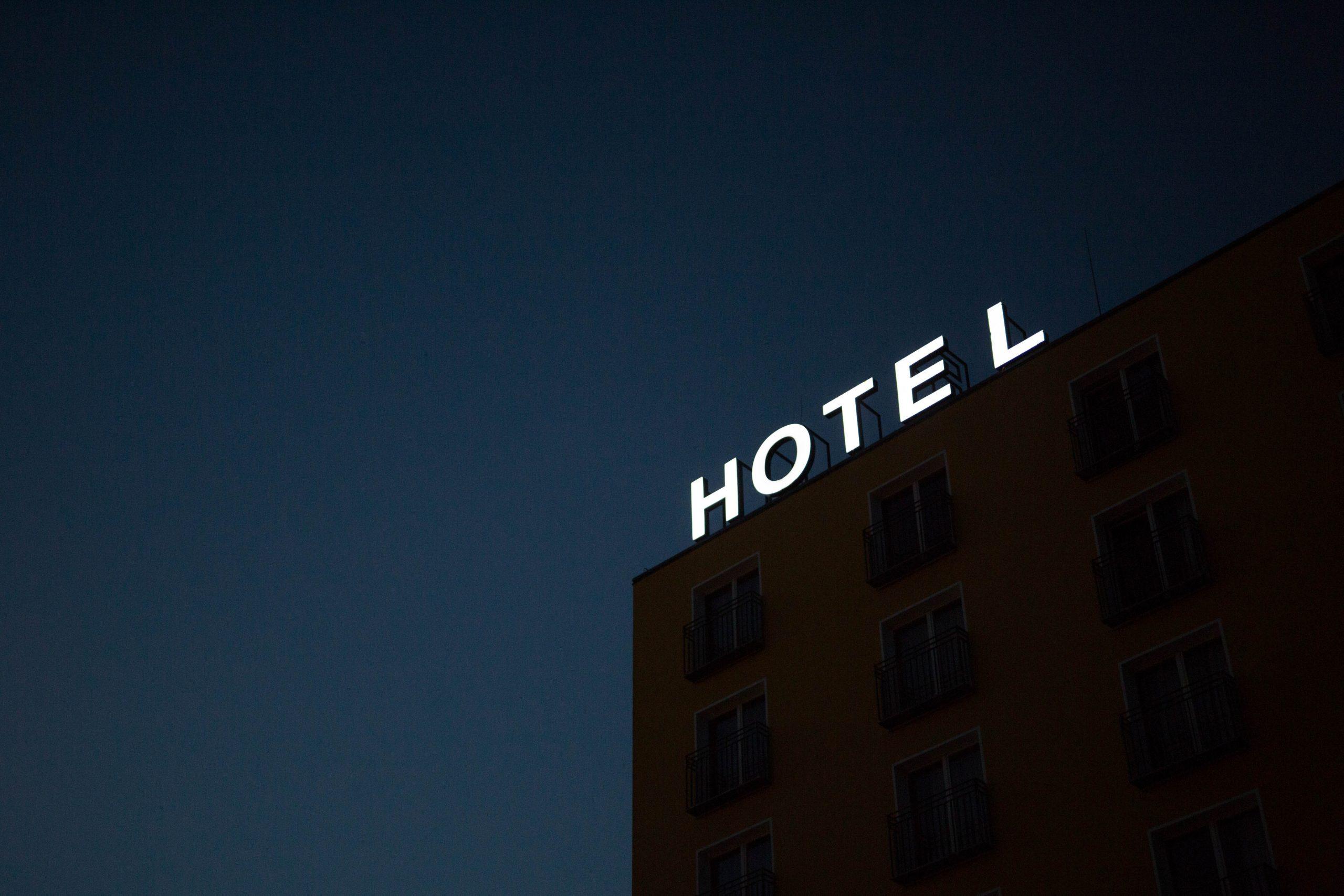 hotel sign image